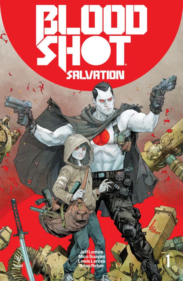 Bloodshot: Salvation #1 (Rocafort Cover)