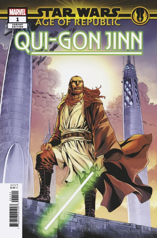 Star Wars: Age of Republic - Qui-Gon Jinn #1 (Cory Smith Cover)