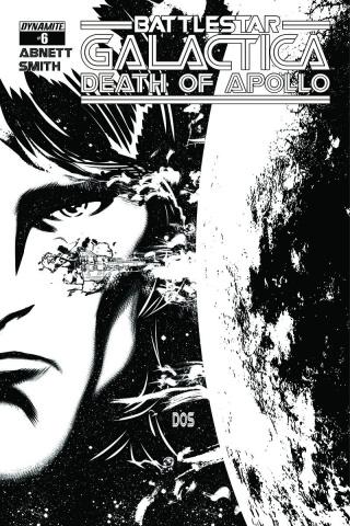 Battlestar Galactica: Death of Apollo #6 (10 Copy Smith B&W Cover)