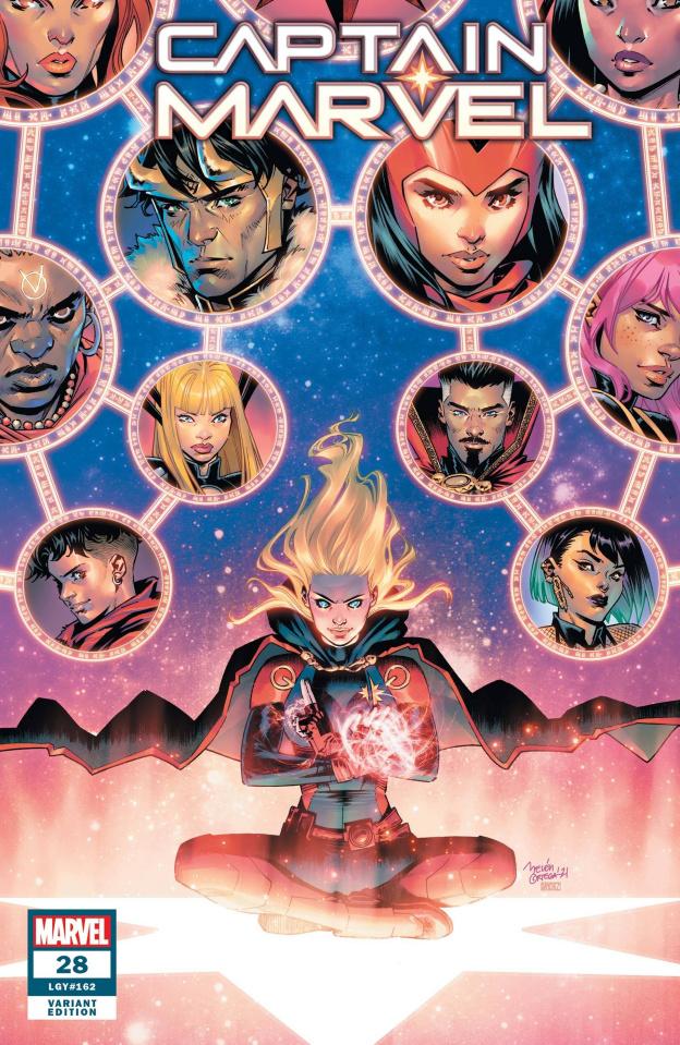 Captain Marvel #28 (Ortega Cover)
