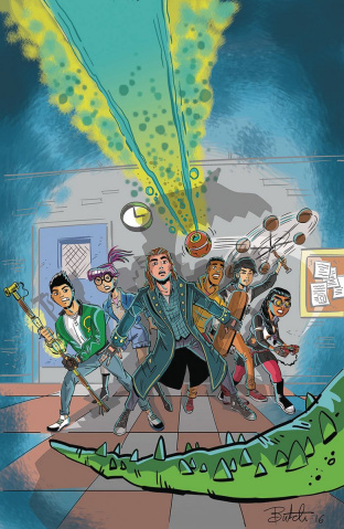 The Three O'Clock Club #1 (5 Copy Cover)
