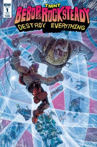 Teenage Mutant Ninja Turtles: Bebop & Rocksteady Destroy Everything #1 (Subscription Cover)