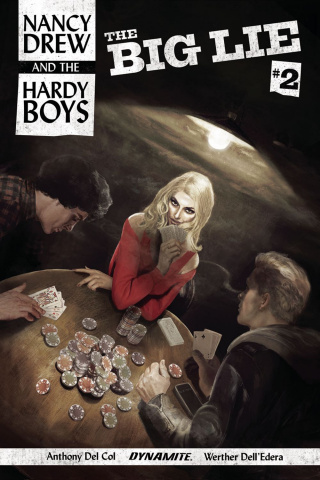 Nancy Drew and The Hardy Boys #2 (Dalton Cover)
