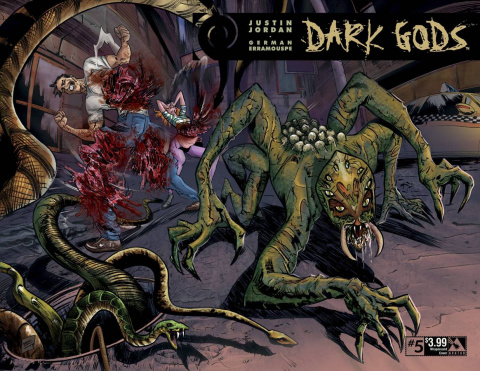 Dark Gods #5 (Wrap Cover)