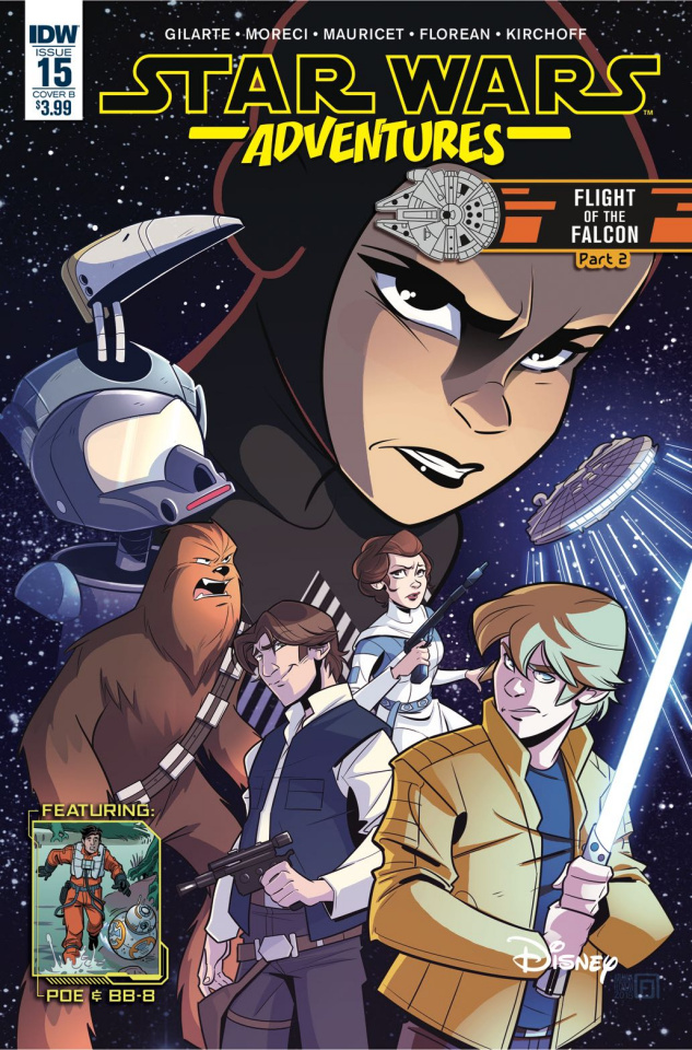 Star Wars Adventures #15 (Florean Cover)