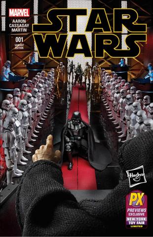 Star Wars #1 (Hasbro Cover)
