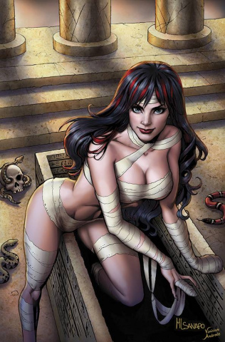 Grimm Fairy Tales: Grimm Tales of Terror #2 (Sanapo Cover)