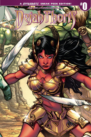 Dejah Thoris #0 (50 Copy Davila Cover)