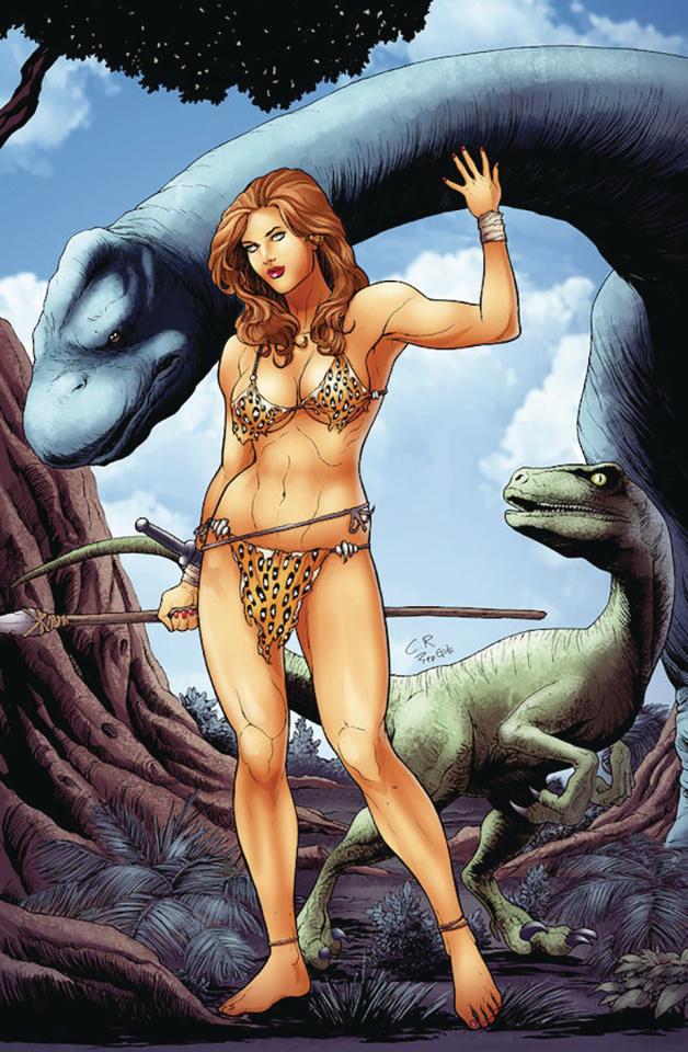 Cavewoman: Target Ankha (Carlos Rafael Cover)