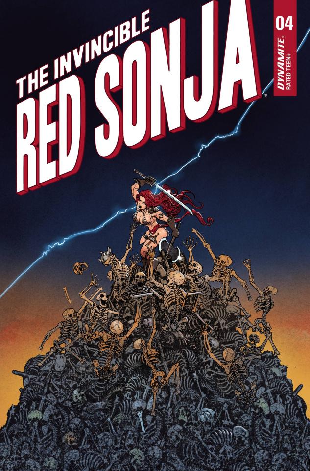 The Invincible Red Sonja #4 (Premium Moritat Cover)
