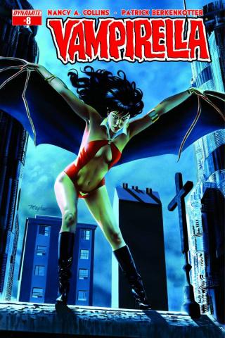 Vampirella #8 (Mayhew Cover)