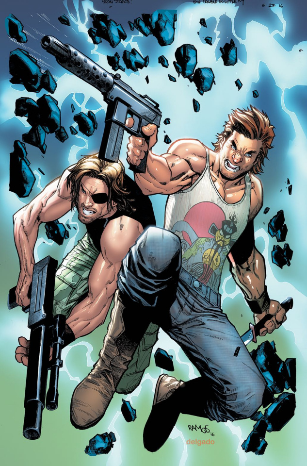 Big Trouble in Little China / Escape from New York #2 (Subscription Ramos Cover)