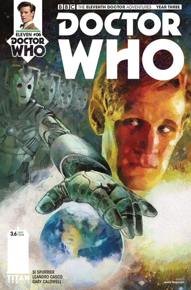 Doctor Who: New Adventures with the Eleventh Doctor, Year Three #6 (Wheatley Cover)