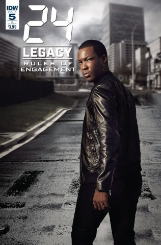 24 Legacy: Rules of Engagement #5 (Photo Cover)