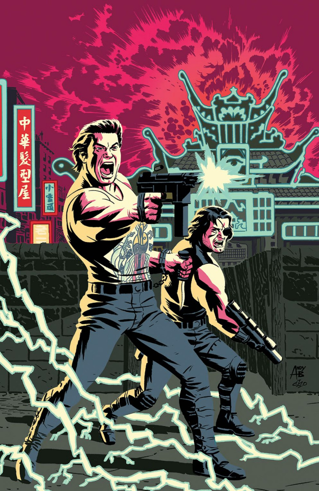 Big Trouble in Little China / Escape from New York #1 (West Cover)