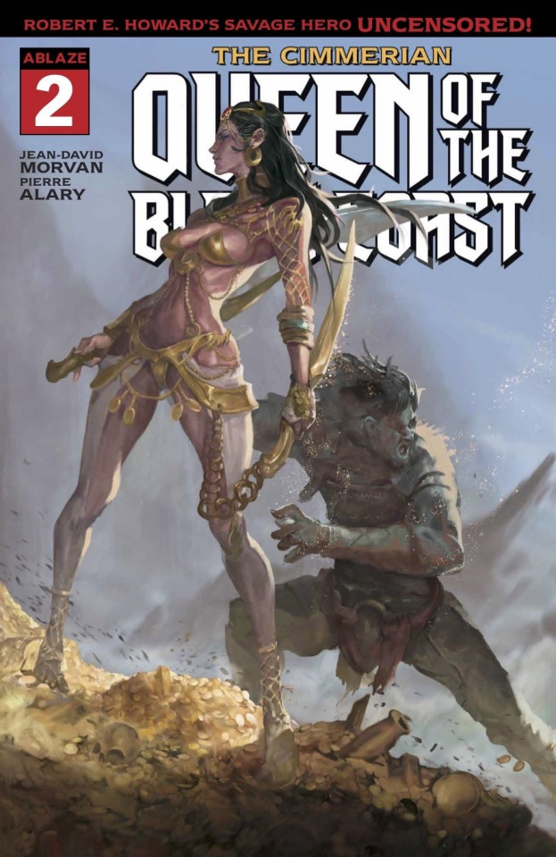 The Cimmerian: Queen of the Black Coast #2 (Yune Cover)