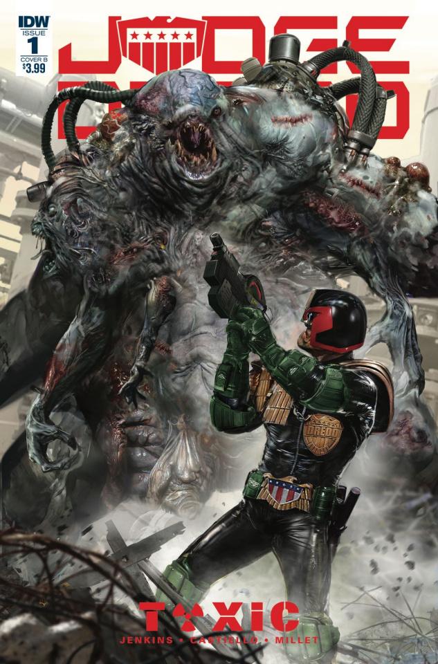 Judge Dredd: Toxic #1 (Gallagher Cover)