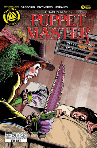 Puppet Master #9 (Lumsden Cover)