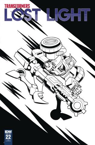 The Transformers: Lost Light #22 (10 Copy Roche Cover)