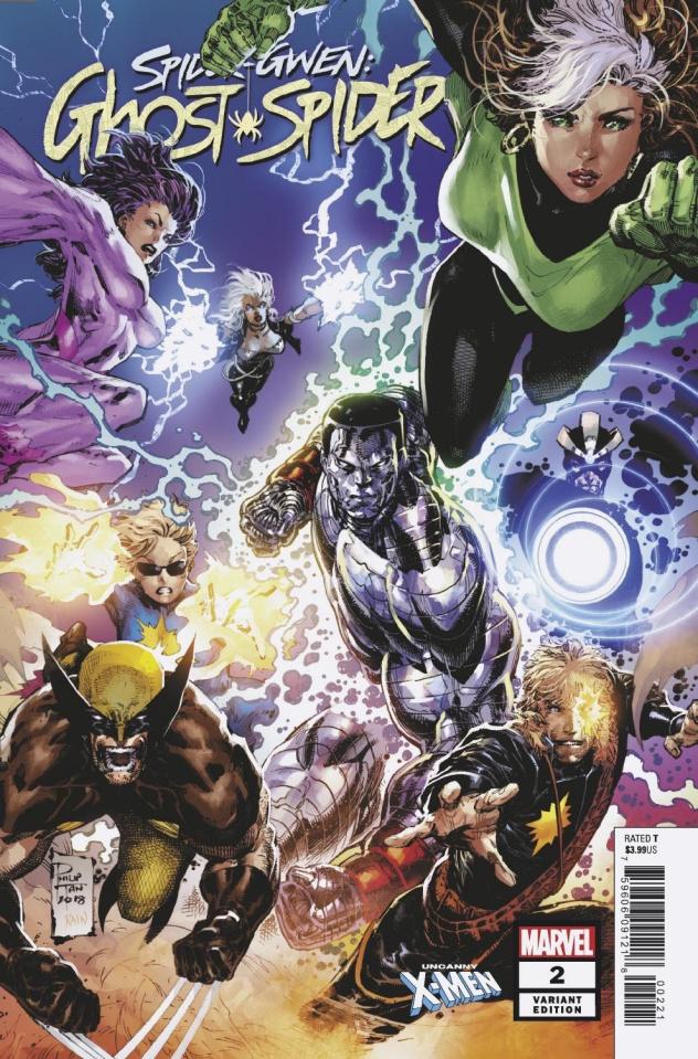 Spider-Gwen: Ghost Spider #2 (Tan Uncanny X-Men Cover)