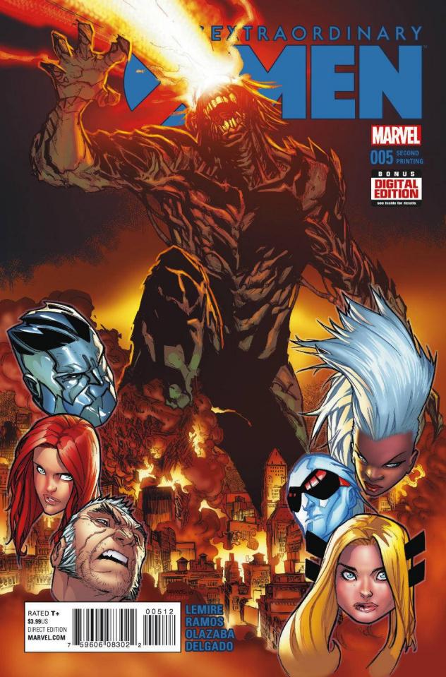 Extraordinary X-Men #5 (Ramos 2nd Printing)