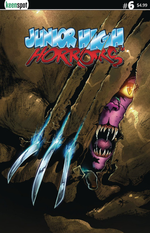 Junior High Horrors #6 (Howling Spoof Cover)