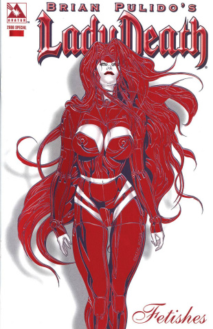 Lady Death: Fetishes (2006 Red Hot Foil Cover)