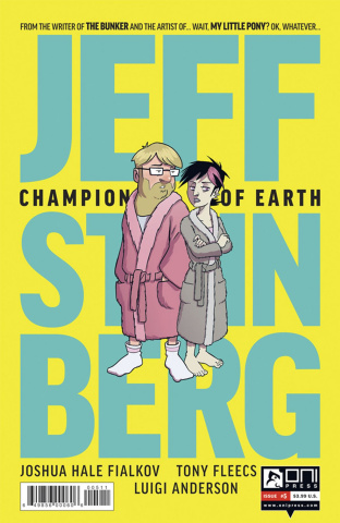 Jeff Steinberg: Champion of Earth #5