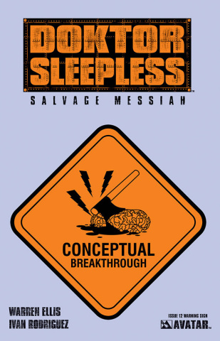 Doktor Sleepless #12 (Warning Sign Cover)
