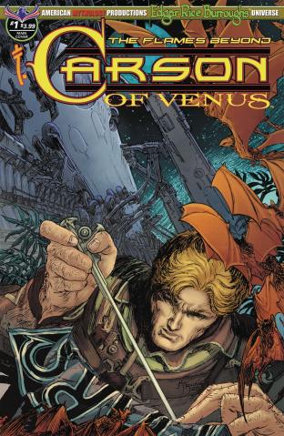 Carson of Venus: The Flames Beyond #1 (Legendary Kaluta Cover)