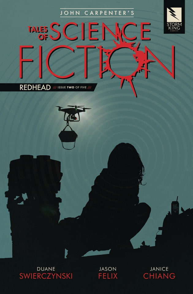 Tales of Science Fiction: Redhead #2
