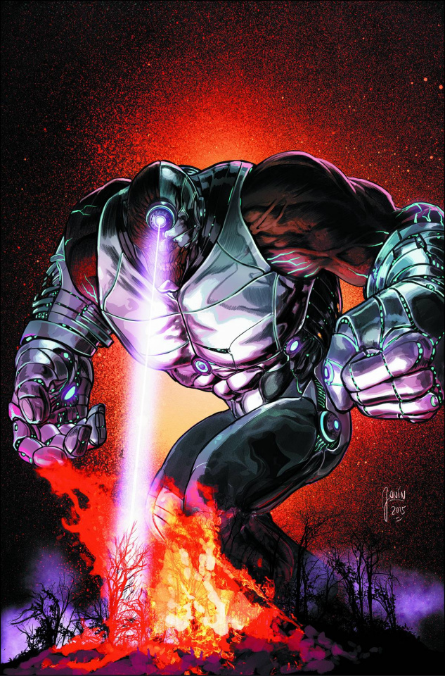 Cyborg #4 (Monsters Cover)