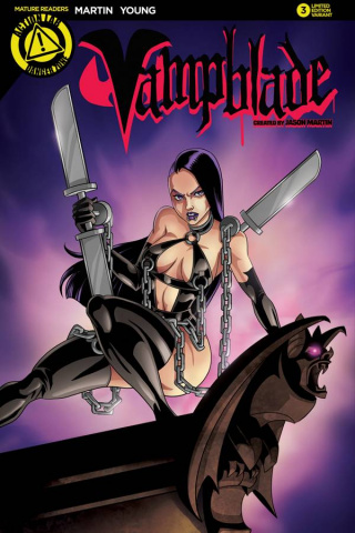 Vampblade #3 (Homage Cover)