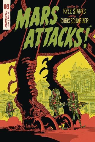 Mars Attacks #3 (Schweizer Cover)