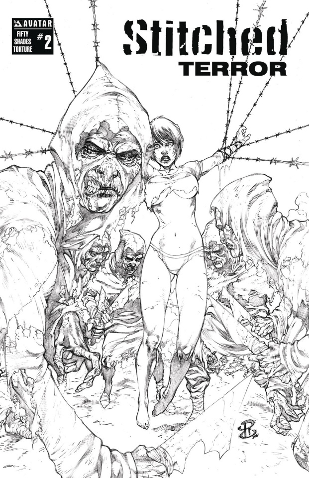 Stitched: Terror #2 (Fifty Shades Torture Cover)