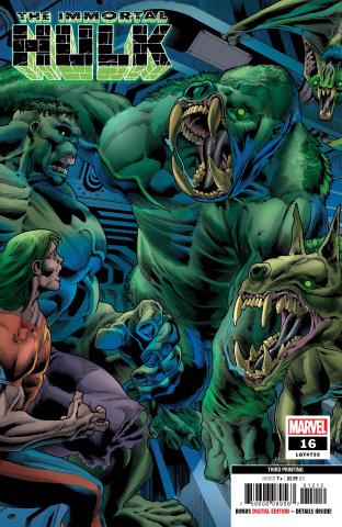 The Immortal Hulk #16 (Bennett 3rd Printing)