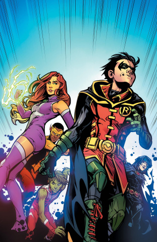Teen Titans #18 (Variant Cover)