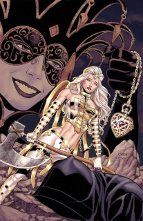 Grimm Fairy Tales: The White Queen #1 (Chen Cover)