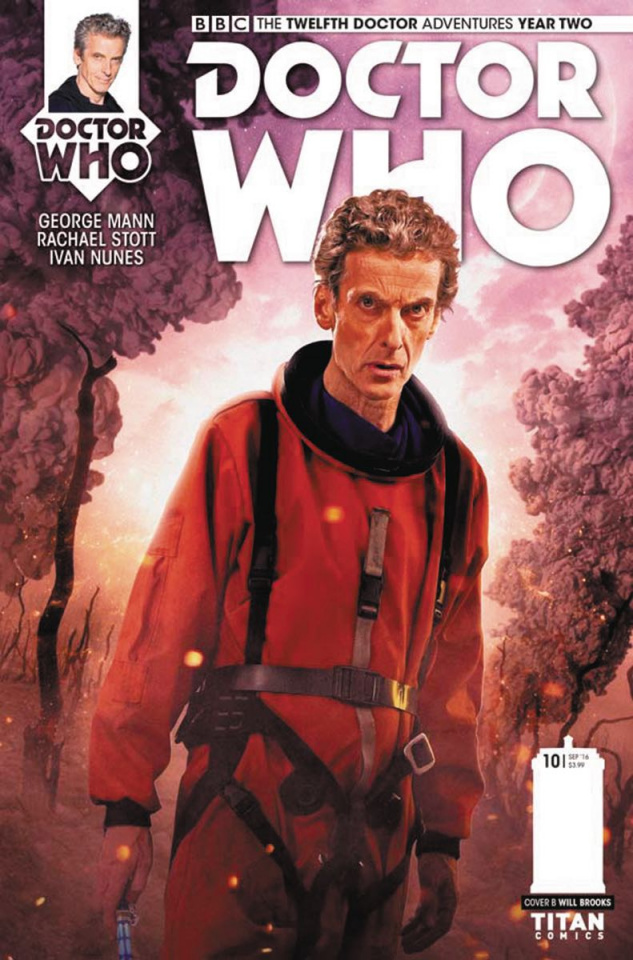 Doctor Who: New Adventures with the Twelfth Doctor, Year Two #10 (Photo Cover)