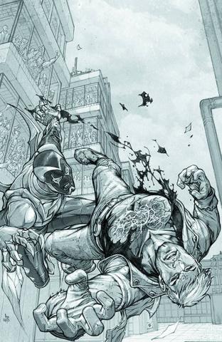 Threshold #2 (Black & White Cover)