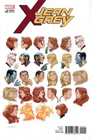 Jean Grey #2 (Yardin Cover)