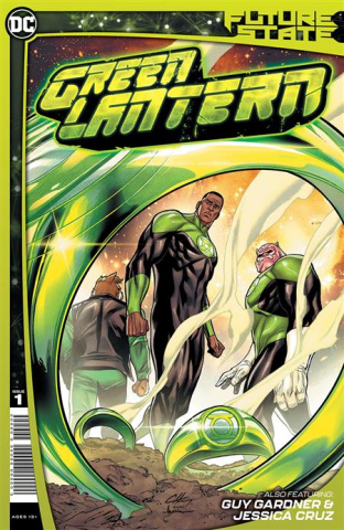 Future State: Green Lantern #1 (Clayton Henry Cover)