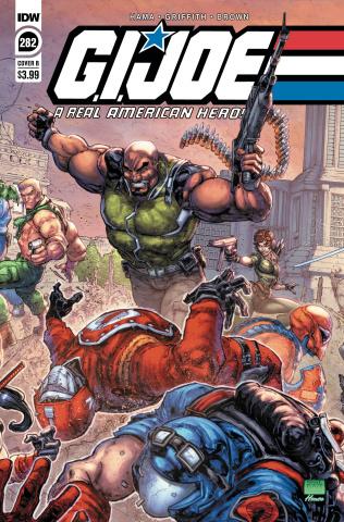 G.I. Joe: A Real American Hero #282 (Freddie Williams II Cover)