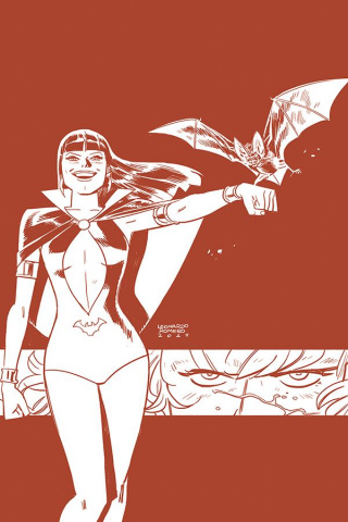 Vampirella / Red Sonja #5 (21 Copy Romero Tint Cover)