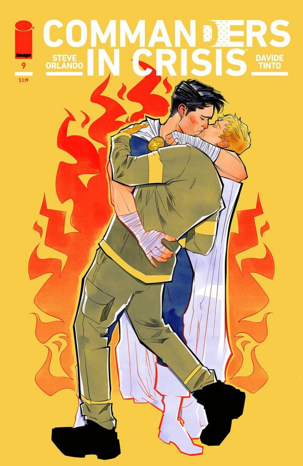 Commanders in Crisis #9 (Cimoroni Cover)