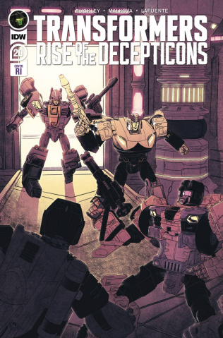 The Transformers #20 (10 Copy Shepherd Cover)