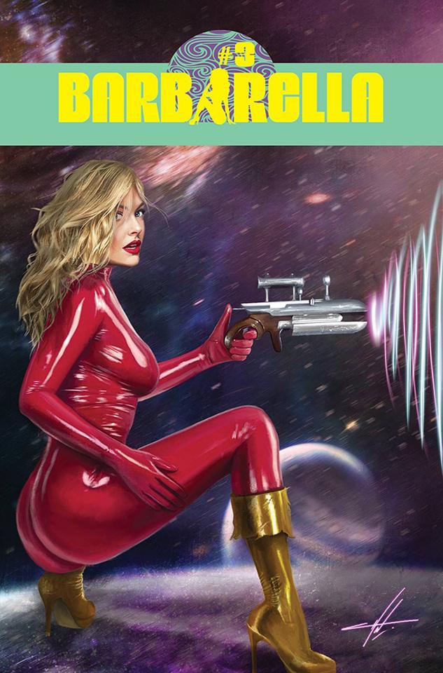 Barbarella #3 (Cohen Cover)