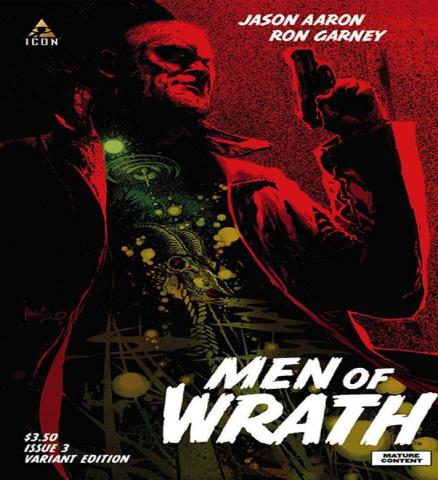 Men of Wrath #3 (Harris Cover)