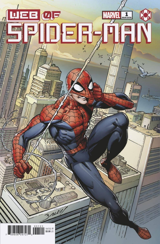 Web of Spider-Man #1 (Bagley Cover)