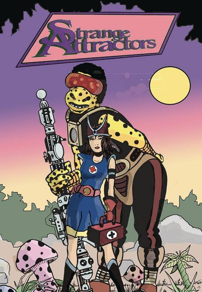Strange Attractors #7 (Retro Variant Cover)